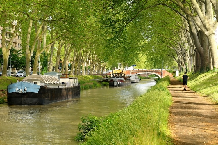 Le-canal-du-midi-en-france