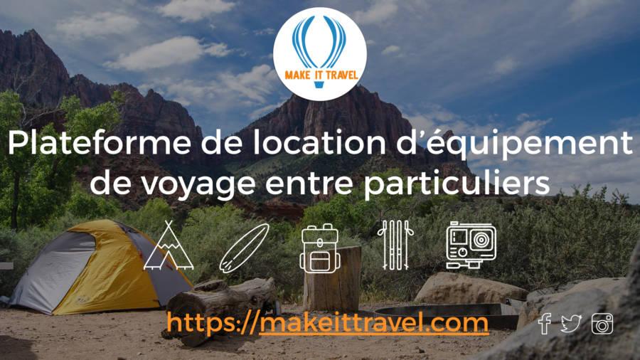 Make It Travel tente
