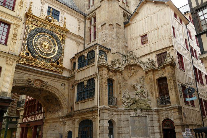 HomeCamper_Le Gros-Horloge de Rouen, France