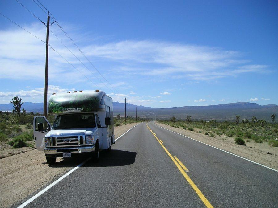 Maison Mobile, Caravanes, Voyage Sur La Route, Voyage