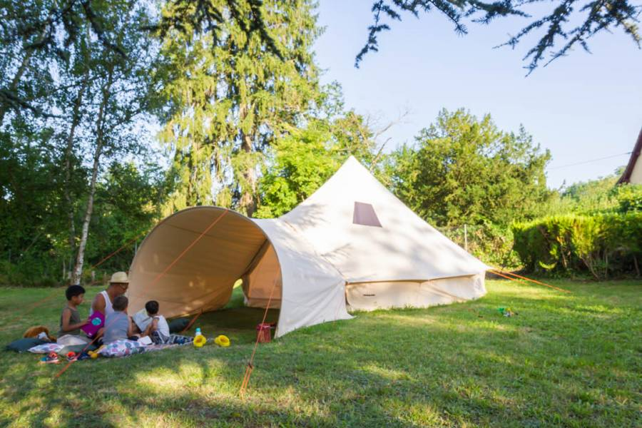 Le glamping, nous on adore !
