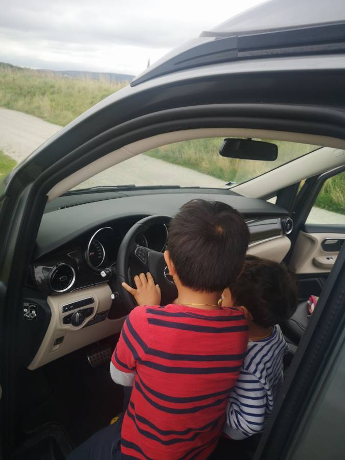Un road trip en famille en Marco Polo Mercedes-Benz