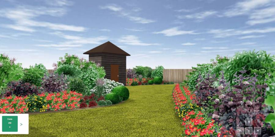 Créer son futur jardin en 3D avec Draw Me A Garden